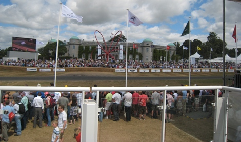 Goodwood House from Sky Sports' Studio 2010