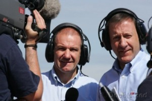 Niall MacKenzie & Keith Huewen - Sky Sports 2007 - Not pretty, but pretty good!