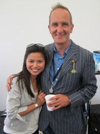 Venus Huewen & Kevin McCloud - Festival of Speed 2010